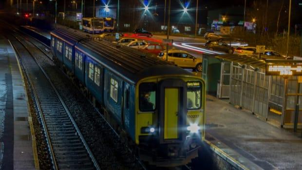 Man Beats Fellow Train Passenger Who Woke Him For Stop Promo Image