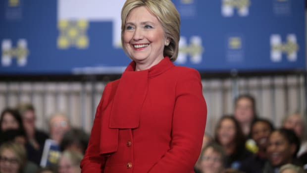 Clinton Claims She Forgot Intel Rules Due To Concussions Promo Image