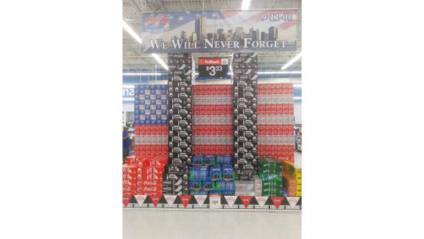 Wal-Mart Under Fire For Tasteless Display (Photo) Promo Image