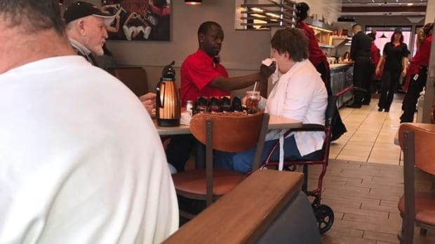 IHOP Waiter From Viral Post Of Kind Act Gets Job Offer Promo Image