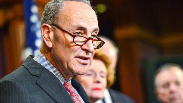 Democrats In Prime Position To Take Back Senate  Promo Image