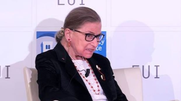 Ginsburg Talks Electoral College, Death Penalty Promo Image