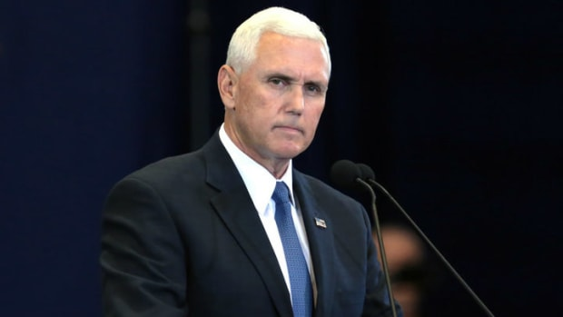 Pence Praises Anti-Gay Radio Host: 'Greatest Honor' Promo Image