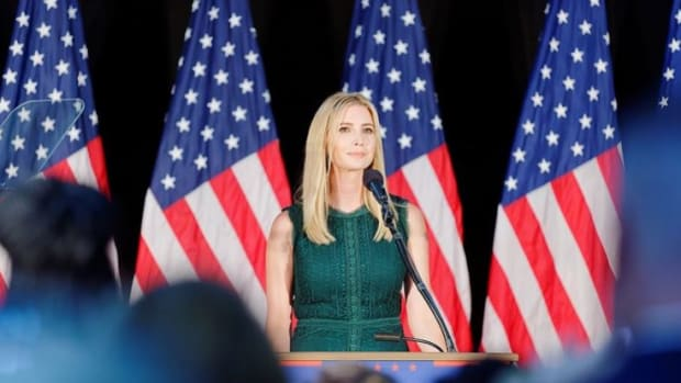 Ivanka Trump Weighs In On U.S. Airstrike Against Syria Promo Image