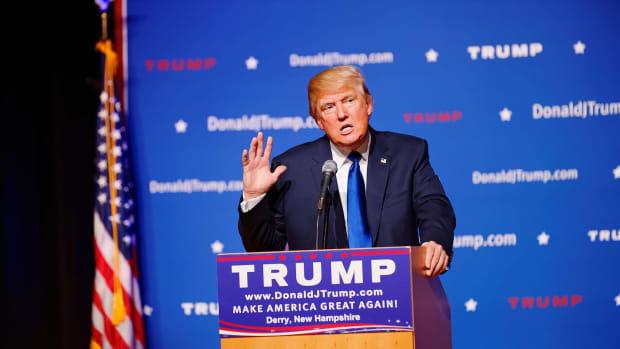 Trump's 'Joke' Went Too Far Promo Image