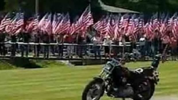 Bikers Block Westboro Baptist Protest Of Vet's Funeral Promo Image