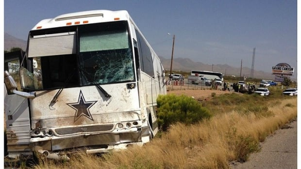 Four Dead After Dallas Cowboys Tour Bus Crash (Photo) Promo Image