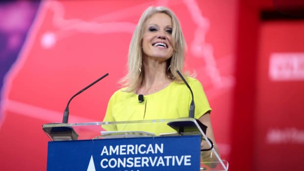 Kellyanne Conway Punches Man At Inaugural Event Promo Image
