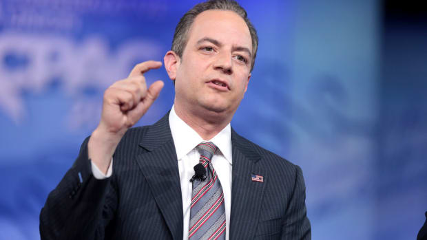 Priebus Tells Staff To Stop Giving Trump Fake News Promo Image