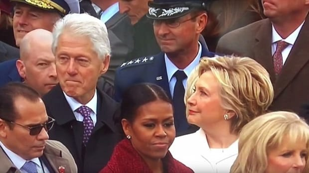 Hillary Catches Bill Clinton Checking Out Ivanka Trump (Video) Promo Image