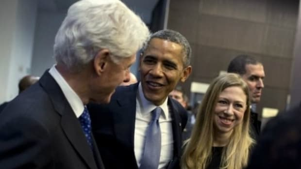 Chelsea Clinton Used Foundation To Pay For Wedding Promo Image