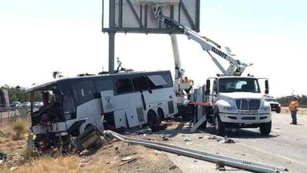 Horrific California Bus Crash Kills At Least Five Promo Image