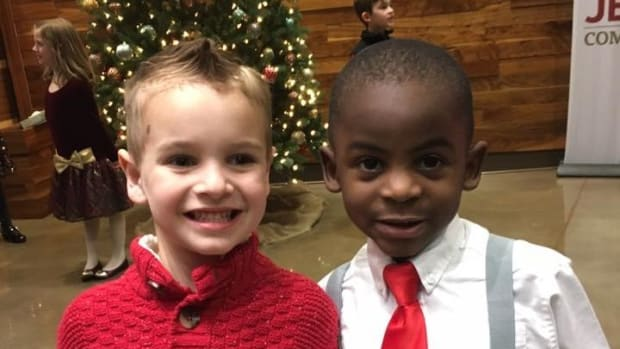 5-Year-Old Boy's Haircut Wish Goes Viral (Photo) Promo Image