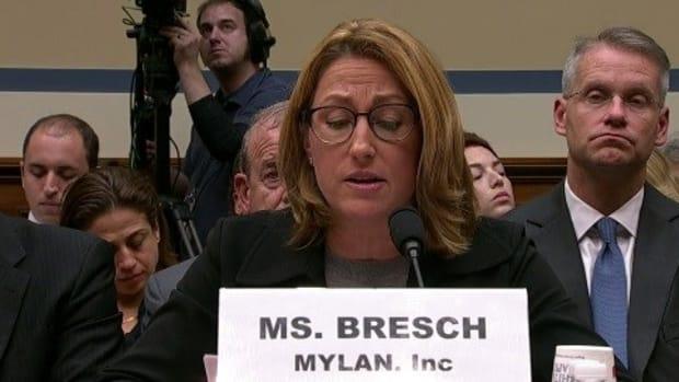 Mylan CEO Won't Apologize For EpiPen Price Hikes  Promo Image