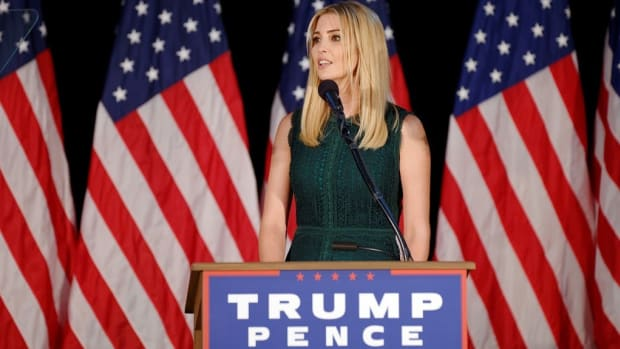 Ivanka Trump Booed At Women's Conference In Germany Promo Image