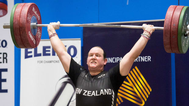 Transgender Weightlifter's Victory Is Legitimate Promo Image