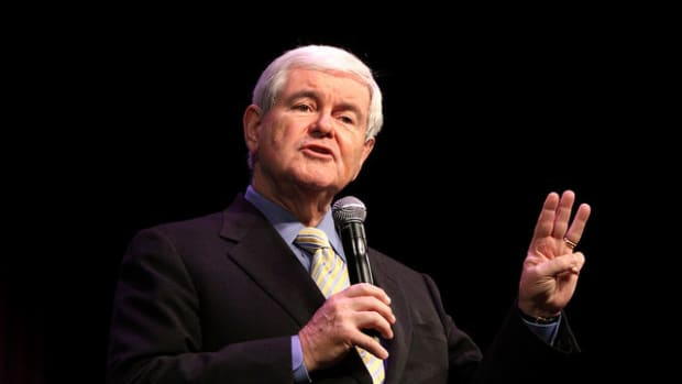 Gingrich Will Accept Trump VP Spot If Offered (Video) Promo Image