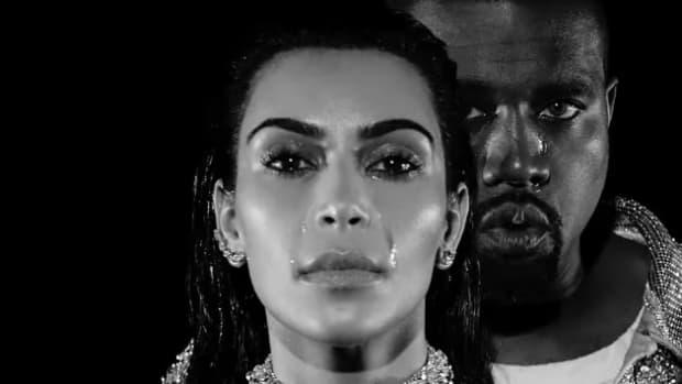 Kanye West And Kim Kardashian Reportedly Fighting Promo Image