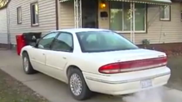Man Ticketed For Warming Up His Car In Own Driveway (Video) Promo Image