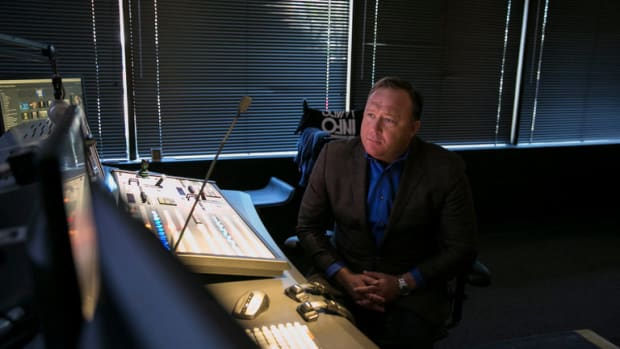 Alex Jones Apologizes For Spreading 'Pizzagate' Hoax Promo Image