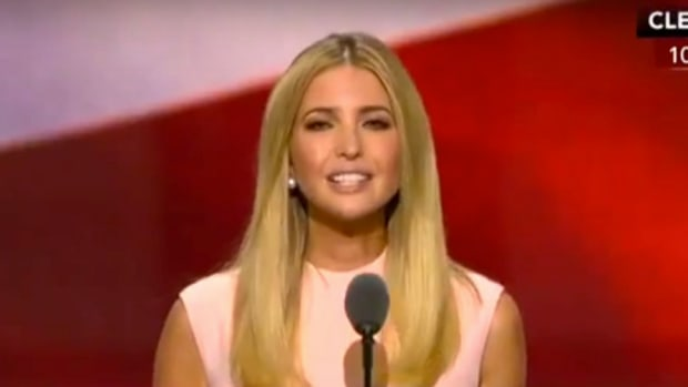 Ivanka Trump Calls For Equal Pay, GOPers Angry (Video) Promo Image
