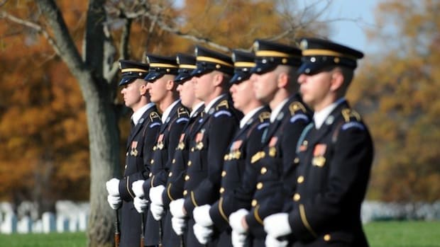 Obama Makes Honor Guard Speech, Then: BOOM (Photos) Promo Image