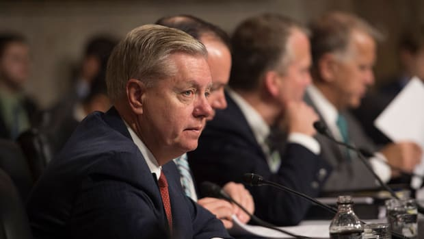 Lindsey Graham: Trump's 'Take The Oil' Plan Would Start WW3 Promo Image