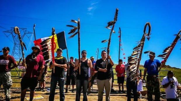 Police Arrest 141 At North Dakota Pipeline Protest Promo Image