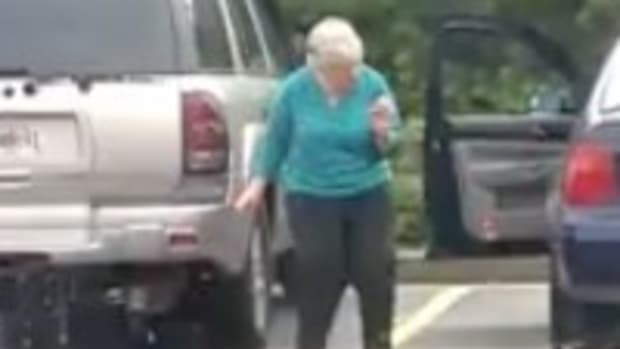 Grandma Dances In Waffle House Parking Lot (Video) Promo Image