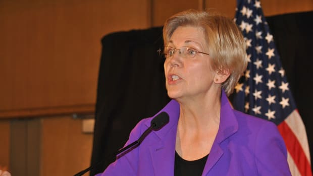 GOP Silencing Of Elizabeth Warren Backfires Promo Image