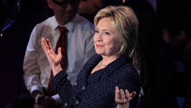 Poll: Clinton's Lead Continues To Grow Post-Debate Promo Image