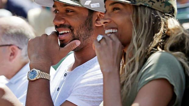 Ciara And Russell Wilson's Picture Sparks Controversy (Photo) Promo Image