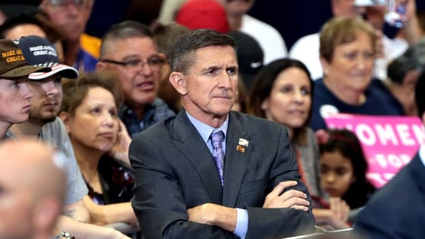 Trump Reportedly Wants Flynn Back In White House Promo Image