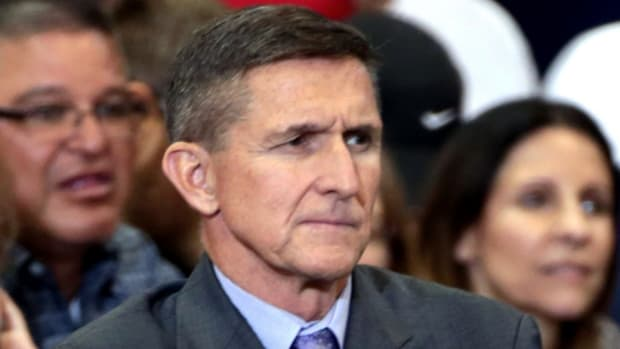 Report: Trump Wants To Re-Hire Flynn, If Cleared Promo Image