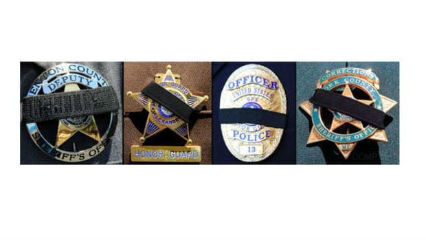 Officers Nationwide Don Mourning Badges Promo Image