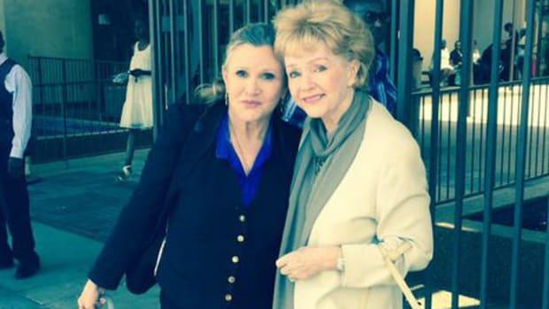 Report: Debbie Reynolds Rushed To Hospital After Stroke Promo Image