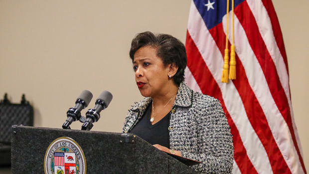 AG Lynch Addresses Trust Between Police, Communities Promo Image