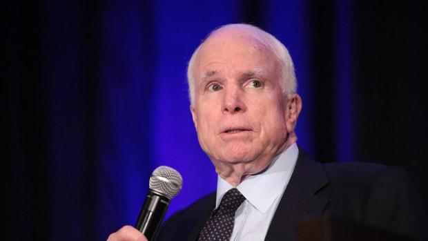 McCain Compares Comey Memo To Watergate Promo Image