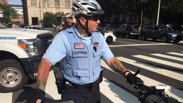 Philadelphia Cop Didn't Break Rules With 'Nazi' Tattoo Promo Image