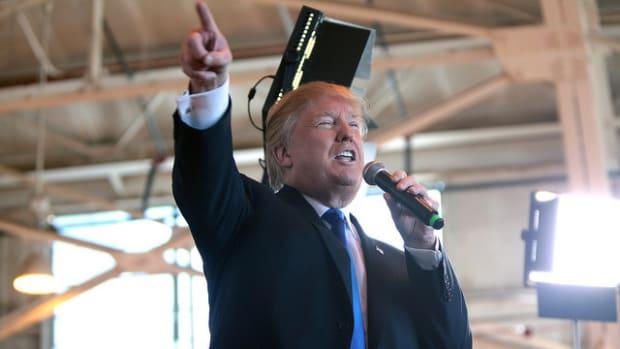 Trump Speech Calls For New Era Of American Trade Promo Image