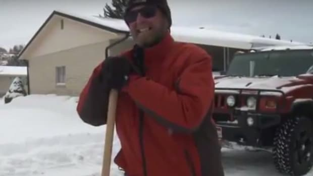 Man Ticketed For Plowing Snow For Elderly Neighbors (Video) Promo Image