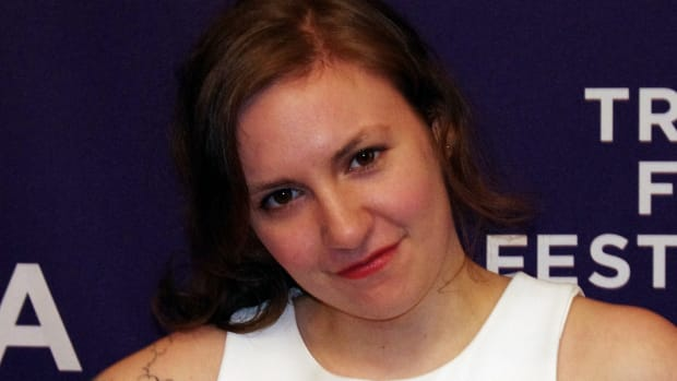 Lena Dunham Shows Off New Tattoo In Topless Selfie (Photo) Promo Image