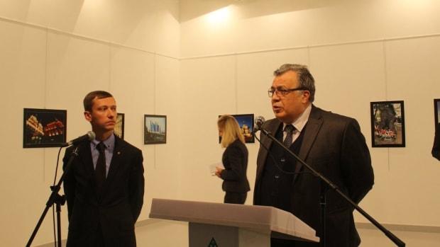 Russian Ambassador Killed By Gunman In Turkey Promo Image