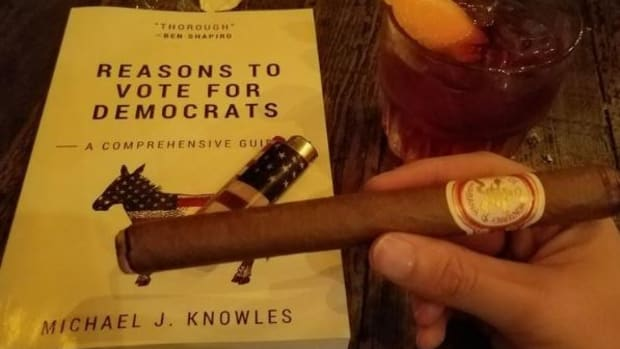 'Reasons To Vote For Democrats' Book Is 266 Blank Pages Promo Image