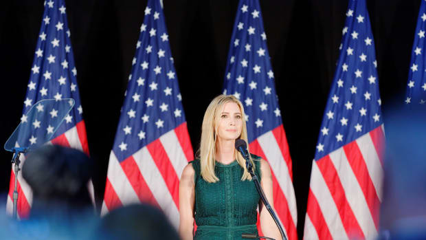 Ivanka Under Fire For Daughter's Dress At Jewish Event (Photos) Promo Image