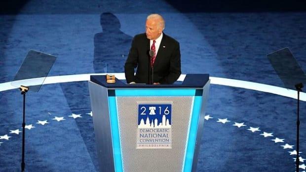 Biden Tells Trump To 'Grow Up' Promo Image