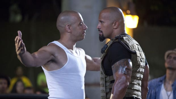 Fast 8 Crew Sides With Rock In Feud With Vin Diesel Promo Image