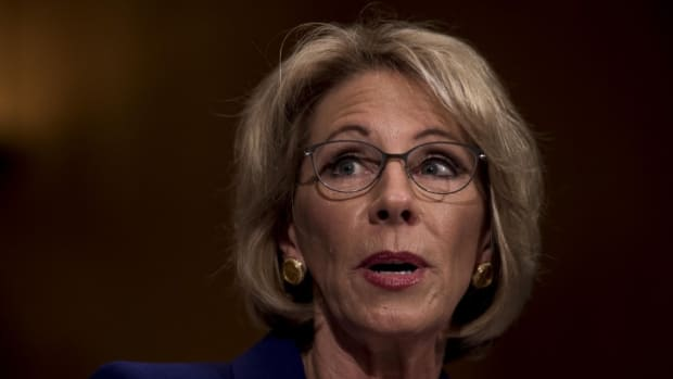 Betsy DeVos Confirmed As Education Secretary Promo Image