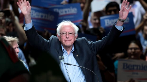 Sanders On 2020 Bid: 'I'm Not Ruling Out Anything' Promo Image
