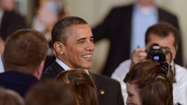 Sushi Patrons React To Obama Visit (Video) Promo Image